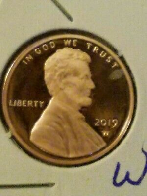 2019~W Lincoln Cent Penny Premium Proof Coin First Ever  In Stock ~Ready To Ship
