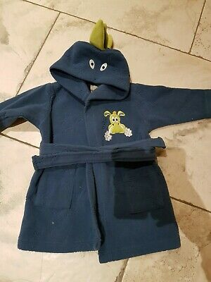 Baby boy dressing gown 6-9 months