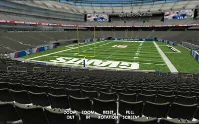 2 Tickets Philadelphia Eagles At New York Giants 12/29/2019 - Lowers!