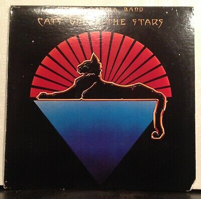 Jerry Garcia Band Cats Under The Stars LP NM vinyl