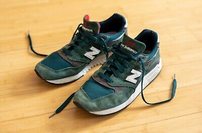 the latest 0883a 5c83e New Balance Men s 998 Made in USA Age of Exploration Green Dark Teal Size 11