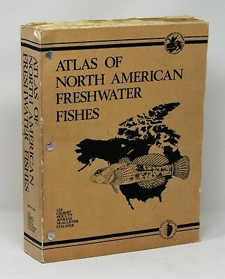 Atlas of North American Freshwater Fishes 1980 Ichthyology Reference