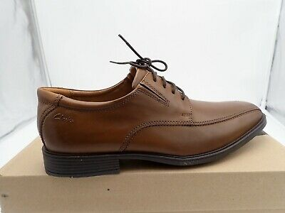 e9dc645e6b12 Single right shoe size 9.5 M Clarks Men s Tilden Walk Oxford Brown for  Amputee