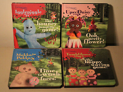 In The Night Garden - Board Book Bundle x 4 - BBC Children's Books - CBeebies