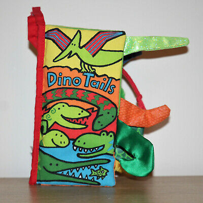 Dino Tails by Anne Wilkinson - Little Jellycat - Sensory Baby Book - Dinosaurs