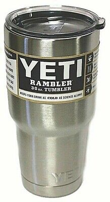 Yeti 30oz Stainless Steel Tumbler Cup with Lid  Rambler Tumbler Vacuum Insulated