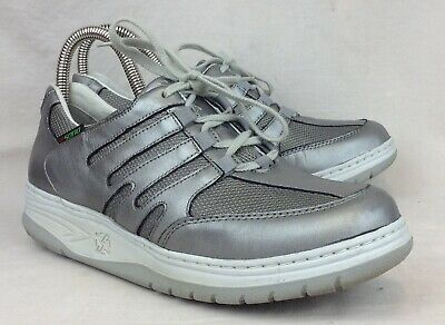 4bec523a205 Sano by Mephisto Escape Size 8.5 US Womens Steel Perl Leather Walking Shoes
