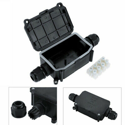 Outdoor Dust//Water-Proof Electrical Junction Box Connector Enclosure Case 2 WAY