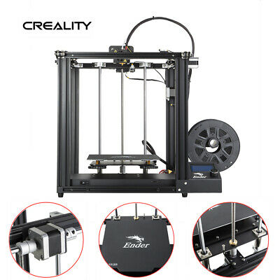 Creality 3D Ender 5 3D Drucker Dual Y-Achse 220x220x300mm Präzision Than Ender 3