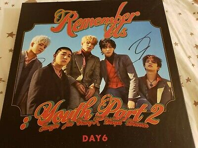 DAY6 YOUTH PART 2 Rew. Ver. SIGNED MWAVE official no photocards