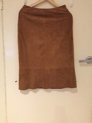Suede Skirt  From Antik Batik In France