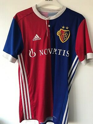 F.C Basel Shirt Size Small Excellent Condition