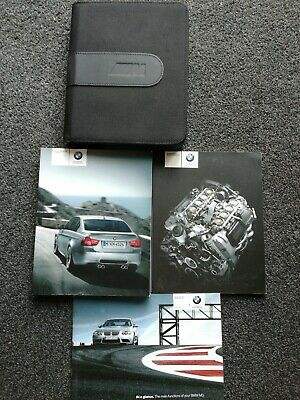 Bmw M3 Saloon Owners Pack / Handbook / Manual With Wallet 2010~2013