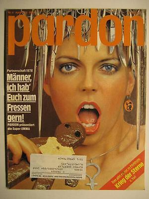 Pardon 1978 Nr. 4 April - Parodie - Satire