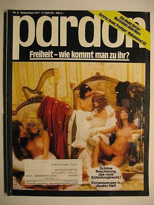 Pardon 1977 Nr. 9 September - Parodie - Satire