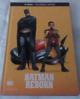 Dc Comics The Legend Of Batman. Volume 8. Batman Reborn. Eaglemoss.