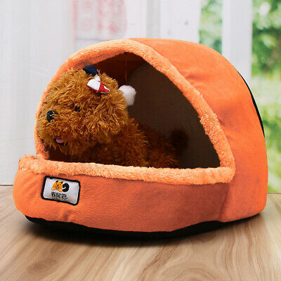 Sac de couchage grand chiot animal chat chien nid lit chiot Fluff chaud grotte m