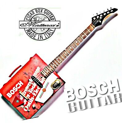 Cigar Box Guitar Bosch 6S  by Robert Matteacci