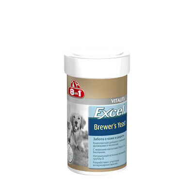 Vitamins Excel Brewer's Yeast (brewer's yeast) for dog and Cat (140 tablet)