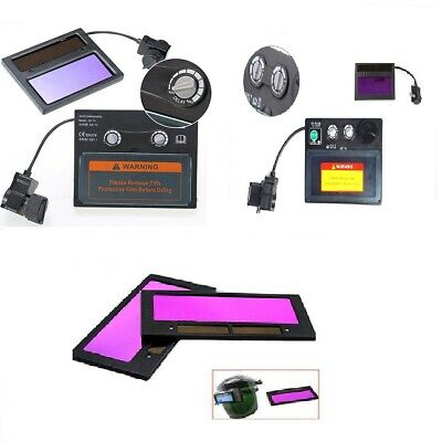 3 Types Auto Solar Darkening Welding Helmet Lens Goggles Mask Automation Filter
