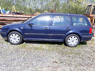 VW Golf 4, 1,9 TDI Kombi blau