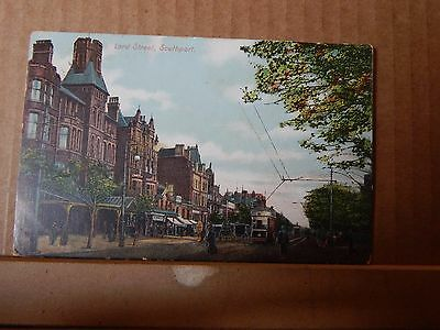 Postcard Southport Lord Street posted 1906