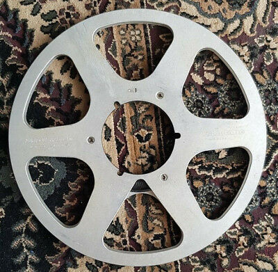 """Audiotape  10.5"""" x 1/4"""" inch Metal Reel to Reel  . Made in USA"""