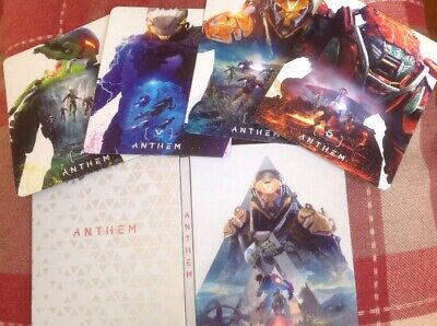 Anthem Magnetic Steelbook Case & 4 Magnet Covers Xbox One