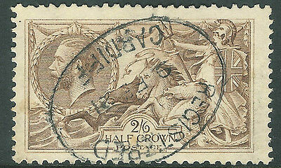Great Britain 1918 seahorse pale-brown 2/6 used SG415a