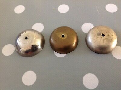 Antique Bell Chimes Brass 32mm 30 and 30mm diameter All Approx 10mm rise.
