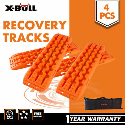 X-BULL NEW Recovery Tracks Sand Track  4pc 10T 4WD With Carry Bag Offroad