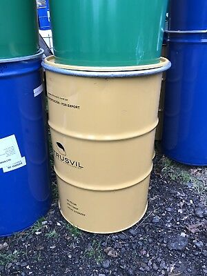 205 Litre / 45 Gallon Used Steel And Plastic Drums Storage,oil,barbecue etc