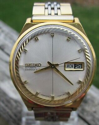 VTG Dec.1967 6619-7040 Proof Seiko 21 Jewel Rare SGP Very Nice Running