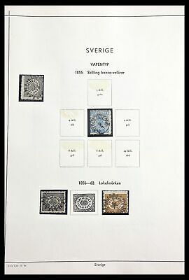 Lot 29221 Collection stamps of Sweden 1855-1967.