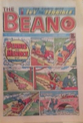 6 copies of The BEANO Comic various dates in very good condition from 1987