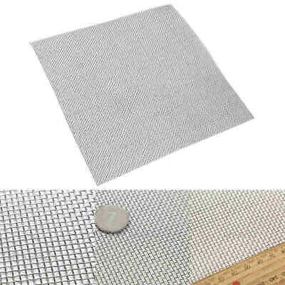 Stainless Steel Net Woven Wire Filtration Screen Filter Sheet 10/100/300/500Mesh