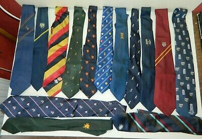 Large Collection of 27 Vintage Cricket Ties
