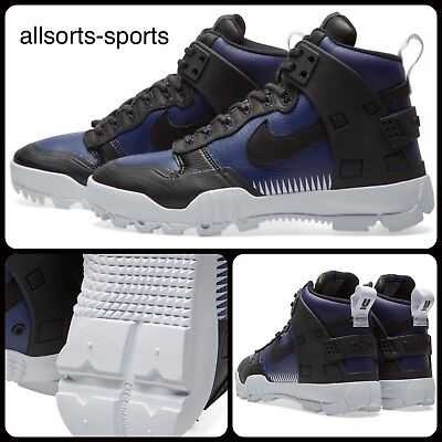 finest selection a8663 12c19 Nike NikeLab SFB Jungle Dunk Undercover 910092-001 Black Loyal Blue