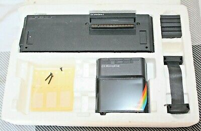 Sinclair ZX Interface 1 & Microdrive in polys for ZX Spectrum