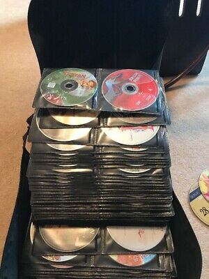 360 DVDs Disney And Classic Movies Collection With Holder