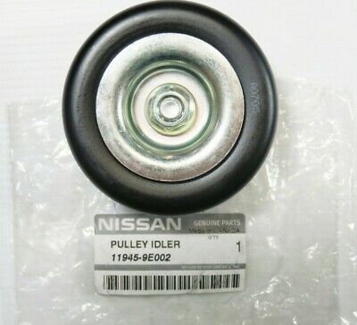 New Genuine OEM Nissan 11945-9E002 Serpentine Belt Idler Pulley 1998-1999 Altima