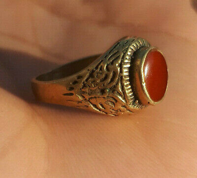 EXTREMELY Ancient authentic Copper BRONZE RING quality ARTIFACT.superb RING RARE