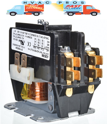 H130A Janitrol Amana  Replacement Contactor 1 Pole • 30 Amp • 24V Coil