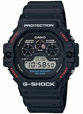 Casio Men's Quartz G-Shock Water Resistant Digital Rubber Watch DW5900-1