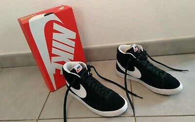 promo code abbf1 17564 NIKE Basket model BLAZER High Suede Taille 40 eur 7 US Chaussures Homme TBE