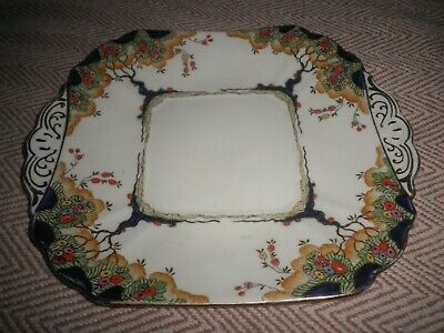 Antique Fenton Bone China Made In England June Pattern Plate Extremely Rare