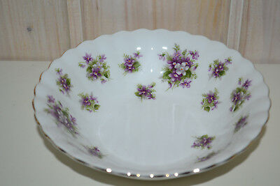 Royal Albert-Porzellan-Bone China-England-Sweet Violets-Schale/Schüssel-Müsli-To
