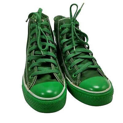 VINTAGE KELLY GREEN Converse Made in USA Size 7 Rare