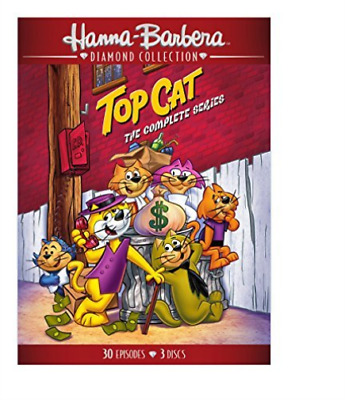 Top Cat: The Complete Serie...-Top Cat: The Complete Series (3Pc) / (3Pk Dvd New