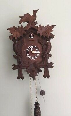 Made in Germany,Quarter-Hour Striking Cuckoo Clock, 1-day Chain-Driven Movement